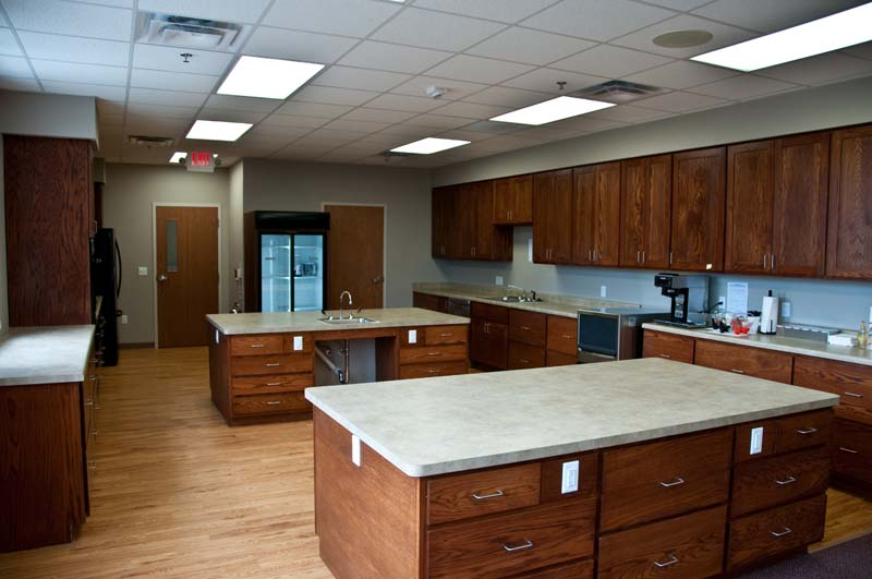 Commercial Kitchen Cabinets Wood Red Oak
